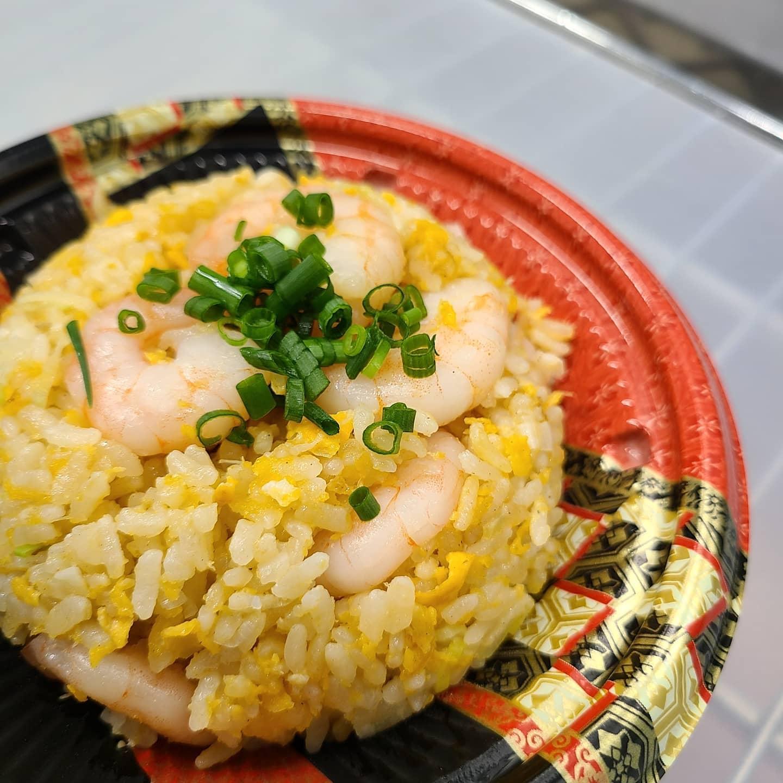 ◎今日のお弁当  ・エビチャーハン ・焼き鳥丼 ・チキンロール弁当 ・金山寺味噌豚丼 ・エビチリ弁当