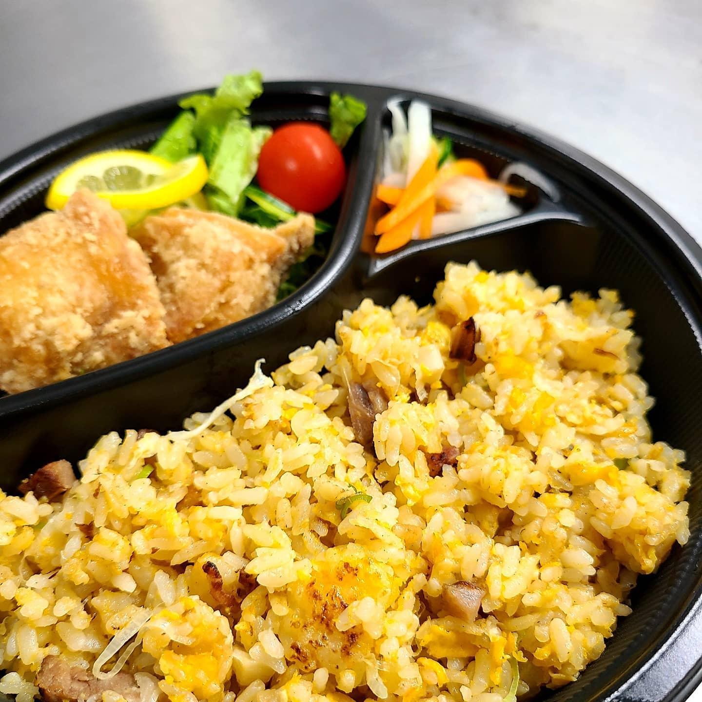 ◎今日のお弁当  ・チャーハン弁当 ・チキンのラタトゥイユ煮弁当 ・豚と京ラフランの炒め弁当 ・トンから弁当