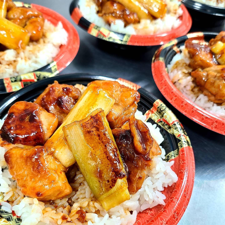 ◎今日のお弁当  ・焼き鳥丼 ・ビビンバ丼  ・焼き肉弁当 ・唐揚げ弁当 ・自家製チャーシュー丼